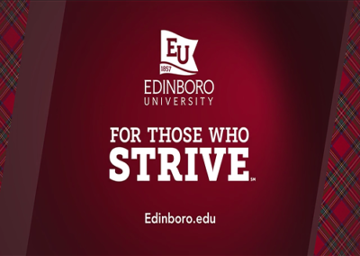 Edinboro University – For Those Who Strive