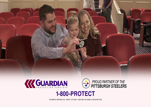 Guardian Protection Services – Pittsburgh Steelers Partnership
